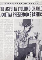 (pagine-pages)OONA CHAPLIN   L'europeo1957/606. - Libros, Revistas, Cómics