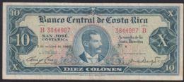 Ref. 3718-4155 - BIN COSTA RICA . 1967. COSTA RICA 10 COLONES 1967 - Costa Rica