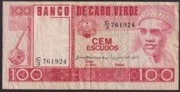 Ref. 3697-4134 - BIN CAPE VERDE . 1977. CABO VERDE 100 ESCUDOS 1977 - Cabo Verde