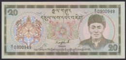 Ref. 3689-4126 - BIN BHUTAN . 1992. BHUTAN 20 NGULTRUM 1992 - Bhoutan