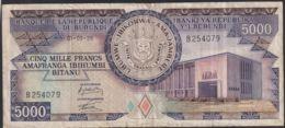 Ref. 3612-4049 - BIN BURUNDI . 1986. BURUNDI 5000 FRANCS 1986 - Burundi