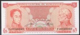 Ref. 3521-3957 - BIN VENEZUELA . 1989. VENEZUELA 10 BOLIVARES 1989 - Venezuela