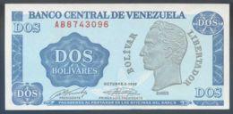 Ref. 3520-3956 - BIN VENEZUELA . 1969. VENEZUELA 2 BOLIVARES 1989 - Venezuela