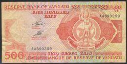 Ref. 3502-3938 - BIN VANUATU . 1993. VANUATU 500 VATU 1993 - Vanuatu