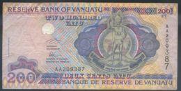 Ref. 3501-3937 - BIN VANUATU . 1995. VANUATU 200 VATU 1995 - Vanuatu