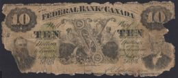 Ref. 3475-3910 - BIN CANADA . 1874. CANADA 10 DOLLARS 1874 - Canada