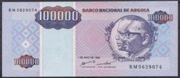 Ref. 3431-3854 - BIN ANGOLA . 1995. ANGOLA 100000 KWANZAS 1995 - Angola