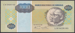 Ref. 3428-3851 - BIN ANGOLA . 1995. ANGOLA 1000 KWANZAS 1995 - Angola