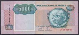 Ref. 3423-3846 - BIN ANGOLA . 1991. ANGOLA 5000 KWANZAS 1991 - Angola
