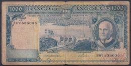 Ref. 3396-3819 - BIN ANGOLA . 1962. ANGOLA 1000 ESCUDOS 1962 - Angola