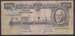 Ref. 3392-3815 - BIN ANGOLA . 1962. ANGOLA 20 ESCUDOS 1962 - Angola