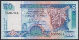 Ref. 3345-3768 - BIN SRI LANKA . 1995. SRI LANKA 50 RUPEES 1995 - Sri Lanka