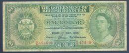 Ref. 3146-3569 - BIN BRITISH HONDURAS . 1969. BRITISH HONDURAS 1 DOLLAR 1969 - Belize
