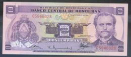 Ref. 3134-3557 - BIN HONDURAS . 1976. HONDURAS 2 LEMPIRAS 1976 - Honduras