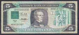 Ref. 3050-3473 - BIN LIBERIA . 1989. LIBERIA 5 DOLLARS 1989 - Liberia