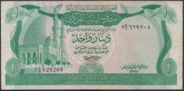 Ref. 3029-3452 - BIN LIBYA . 1981. LIBYA 1 DINAR 1981 - Libië