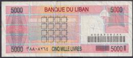 Ref. 3010-3433 - BIN LIBAN . 1943. LIBYA LEBANON 10 LIRE 1943 - Liban