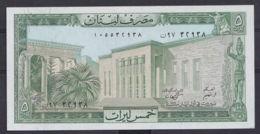 Ref. 3003-3426 - BIN LIBAN . 1986. LIBANAISE LEBANON 5 LIVRE 1986 - Liban