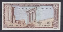 Ref. 3002-3425 - BIN LIBAN . 1980. LIBANAISE LEBANON 1 LIVRE 1980 - Liban