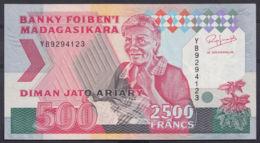 Ref. 2988-3411 - BIN MADAGASCAR . 1993. MADAGASCAR 500 FRANCS 1993 - Madagascar
