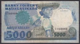 Ref. 2986-3409 - BIN MADAGASCAR . 1993. MADAGASCAR 5000 FRANCS 1993 - Madagascar