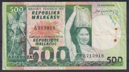 Ref. 2981-3404 - BIN MADAGASCAR . 1974. MADAGASCAR 500  FRANCS - Madagascar