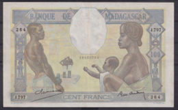 Ref. 2970-3393 - BIN MADAGASCAR . 1950. MADAGASCAR 100 FRANCS 1950 - Madagascar