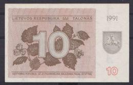 Ref. 2903-3326 - BIN LITHUANIA . 1991. LATVIA 10 TALONAS 1991 - Lithuania