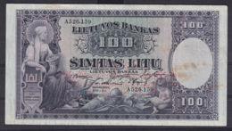 Ref. 2895-3318 - BIN LITHUANIA . 1930. LATVIA 100 LITU 1930 - Lithuania
