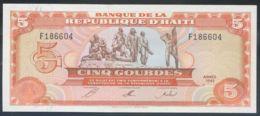 Ref. 2861-3284 - BIN HAITI . 1992. HAITI 5 GOURDES 1992 - Haiti