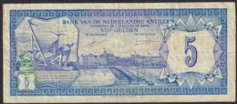 Ref. 2832-3255 - BIN NETHERLANDS ANTILLES . 1980. NEDERLAND ANTILLEN 5 GULDEN 1980 CURA�AO - Antilles Néerlandaises (...-1986)