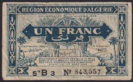 Ref. 2827-3250 - BIN ALGERIA . 1949. ALGERIE 1  FRANC 1949 - Algerien
