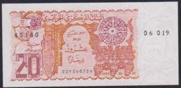 Ref. 2820-3243 - BIN ALGERIA . 1983. ALGERIE 20 DINARS 1983 - Algerien