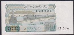 Ref. 2819-3242 - BIN ALGERIA . 1983. ALGERIE 10 DINARS 1983 - Algerien