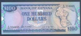 Ref. 2792-3215 - BIN GUYANA . 1999. GUYANA 100 DOLLARS 1999 - Guyana