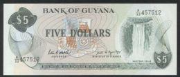 Ref. 2788-3211 - BIN GUYANA . 1989. GUYANA 5 DOLLARS 1989 - Guyana