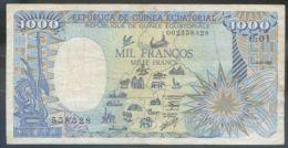 Ref. 2779-3202 - BIN EQUATORIAL GUINEA . 1985. GUINEA ECUATORIAL 1000 FRANCOS 1985 - Guinée Equatoriale