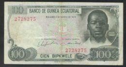 Ref. 2772-3195 - BIN EQUATORIAL GUINEA . 1979. GUINEA ECUATORIAL 100 BIPKWELE 1979 - Guinea Equatoriale