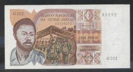 Ref. 2748-3171 - BIN GUINEA BISSAU . 1975. GUINEA BISSAU 100 PESOS 1975 - Guinea-Bissau