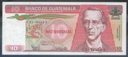 Ref. 2656-3079 - BIN GUATEMALA . 1987. GUATEMALA 10 QUETZALES 1987 - Guatemala