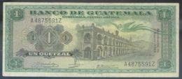 Ref. 2646-3069 - BIN GUATEMALA . 1968. GUATEMALA 1 QUETZAL 1968 - Guatemala