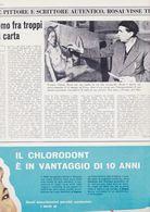 (pagine-pages)OTTONE ROSAI   L'europeo1957/606. - Libros, Revistas, Cómics
