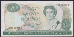Ref. 2522-2945 - BIN NEW ZEALAND . 1989. NEW ZEALAND 20 DOLLARS SIGNATURE C 1989-1992 - Neuseeland