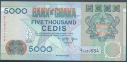 Ref. 2469-2892 - BIN GHANA . 1996. GHANA 5000 CEDIS 1996 23RD FEBRUARY - Ghana