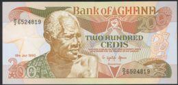 Ref. 2462-2885 - BIN GHANA . 1990. GHANA 200 CEDIS 1990 - Ghana