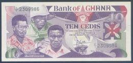 Ref. 2459-2882 - BIN GHANA . 1984. GHANA 10 CEDIS 1984 - Ghana