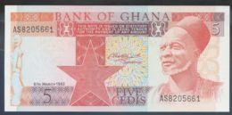Ref. 2454-2877 - BIN GHANA . 1982. GHANA 5 CEDIS 1982 - Ghana