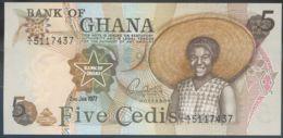 Ref. 2451-2874 - BIN GHANA . 1977. GHANA 5 CEDIS 1977 - Ghana
