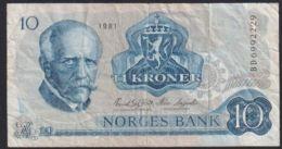 Ref. 2363-2786 - BIN NORWAY . 1950. NORWAY NORGES BANK 1950 10 KRONER - Noorwegen