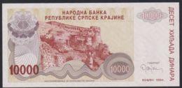 Ref. 2346-2769 - BIN CROATIA. Krajina . 1994. CROACIA KRAJINA 10000 DINARA 1994 - Croatie